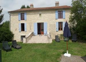 La Roche - Rear Steps of House
